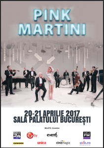 Pink Martini 21 aprilie