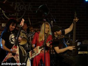Lita Ford and Band a