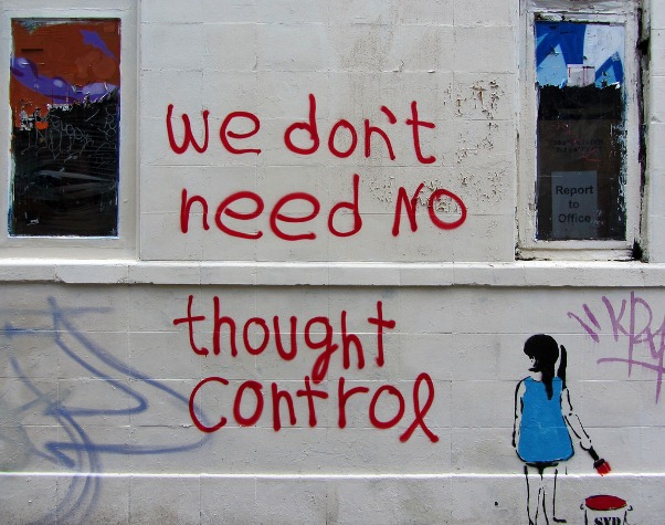 we don't need no thought control a