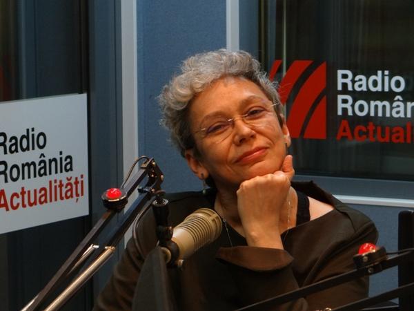 Oana Pellea la Radio Romania 2017