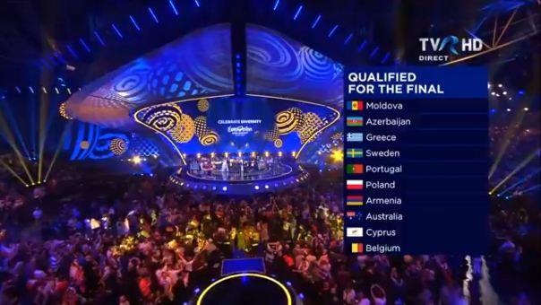 Eurovision 2017 prima semifinala