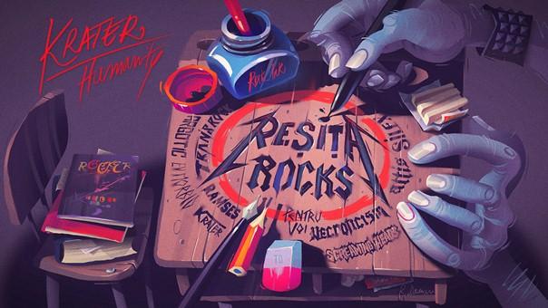 Resita Rocks Krater Humanity Artwork a