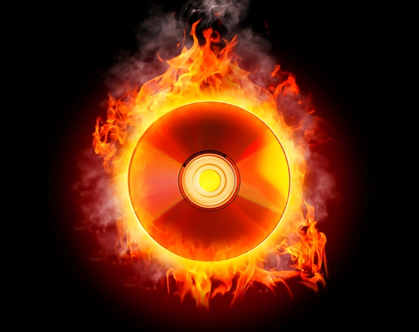 1 music disc fire