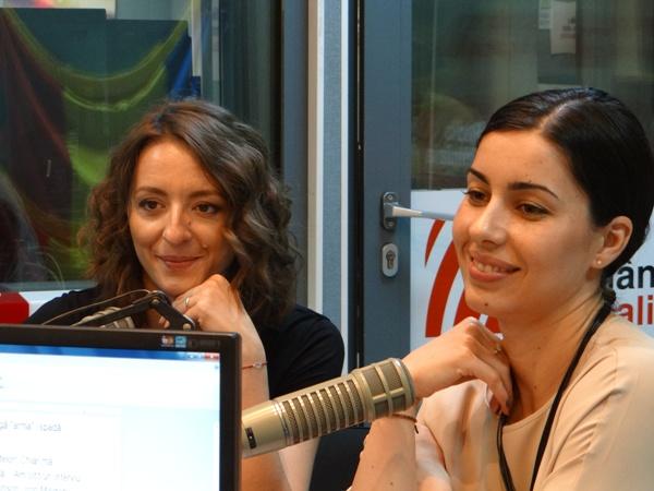 Ana Maria Popescu si Loredana Dinu spada scrima la Radio Romania 2017