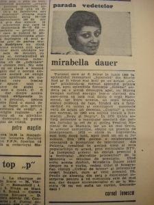 Saptamana Mirabela Dauer