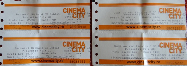 bilete cinema Afi Bucuresti