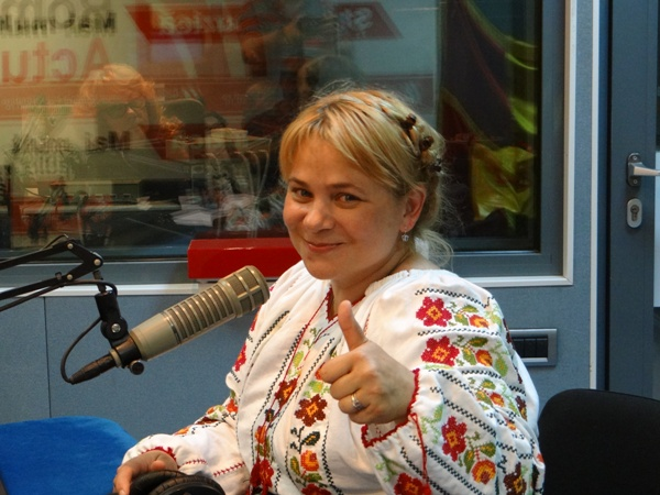 Anca Sigartau la Radio Romania 2017