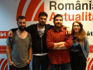 CeZar si colegii la Radio Romania 2017