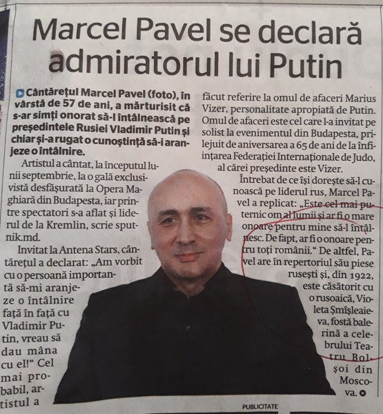 Marcel Pavel a