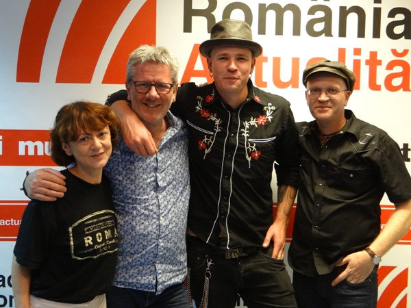 The Twang -o-Matics la Radio Romania 2017