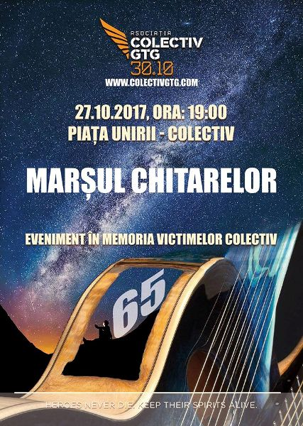 Marsul Chitarelor Colectiv 27 octombrie