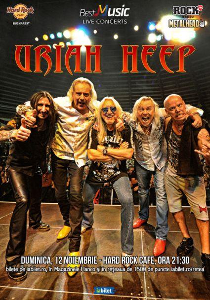 Uriah Heep 12 noiembrie