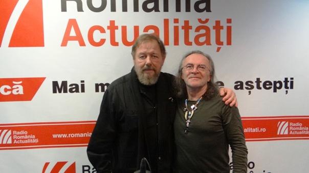 Attila Viranyi si Marius Luca la Radio Romania