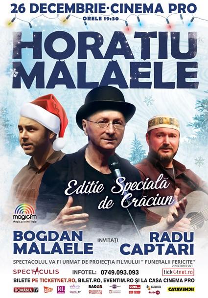 Horatiu Malaele 26 decembrie