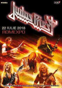 Judas Priest 22 iulie 2018