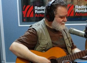 Alexandru Andries la Radio romania 2018