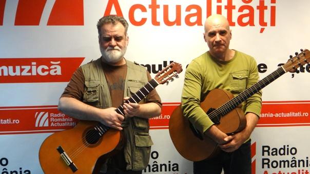 Alexandru Andries si Sorin Romanescu la Radio Romania ianuarie 2018