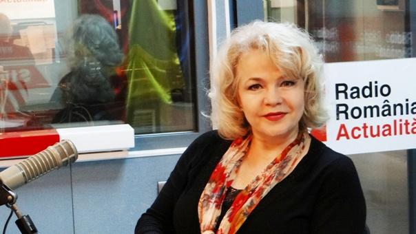 Marina Florea la Radio Romania 2018