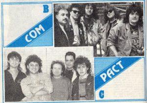 Fotografie publicată în revista Metronom din 1990