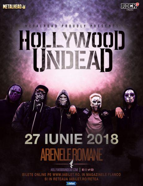 Hollywood Undead 27 iunie