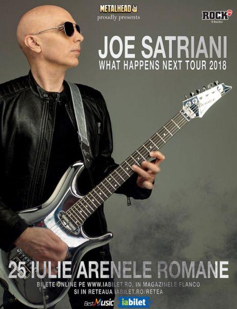 Joe Satriani 25 iulie
