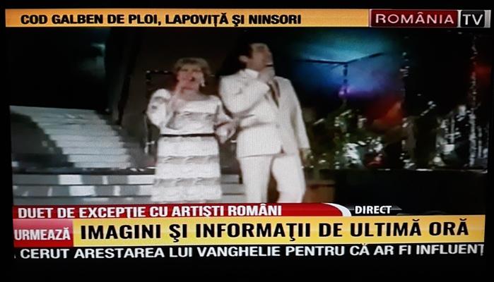Mirabela Dauer si Dan Spataru Romania TV