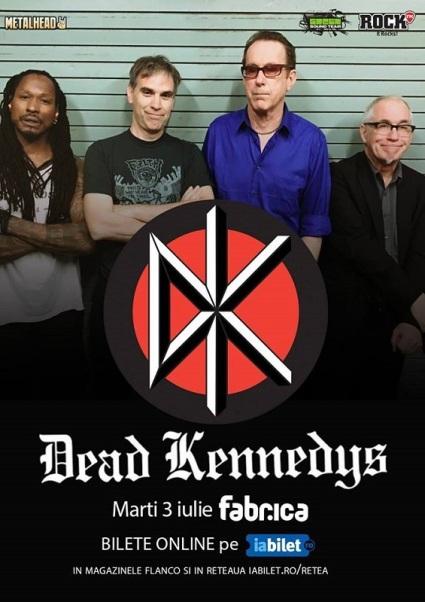 dead kennedys 3 iulie