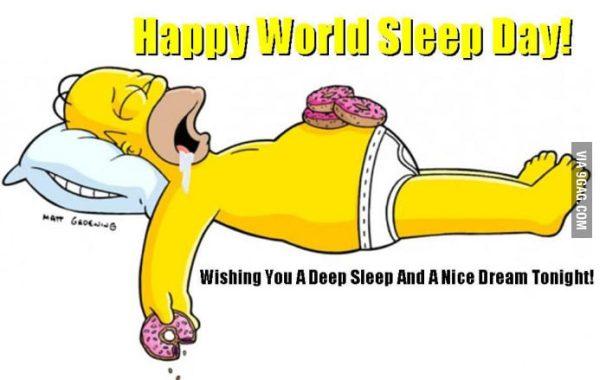 world sleep day a