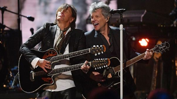 Jon Bon Jovi si Richie Sambora a
