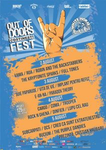 Out Of Doors Fest 5 august