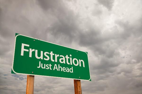 frustration frustrare