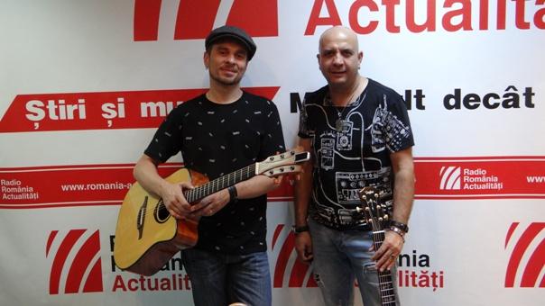 Florin Giuglea si Nicu Patoi la Radio Romania 2018