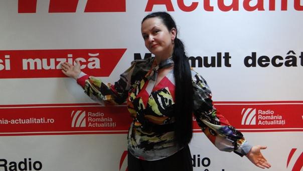 Ioana Sandu la Radio Romania 2018
