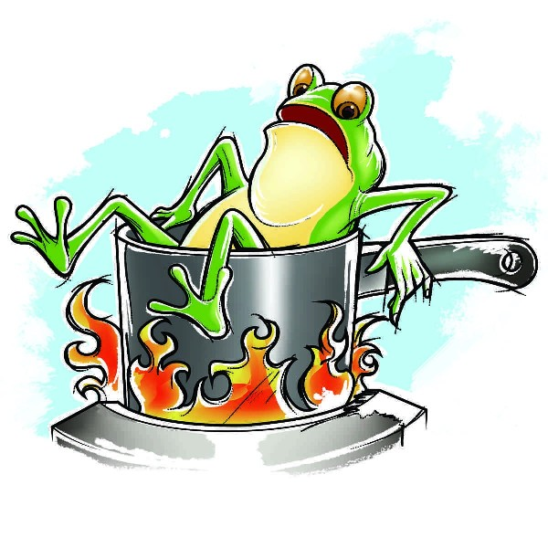 broscuta oala fierbe