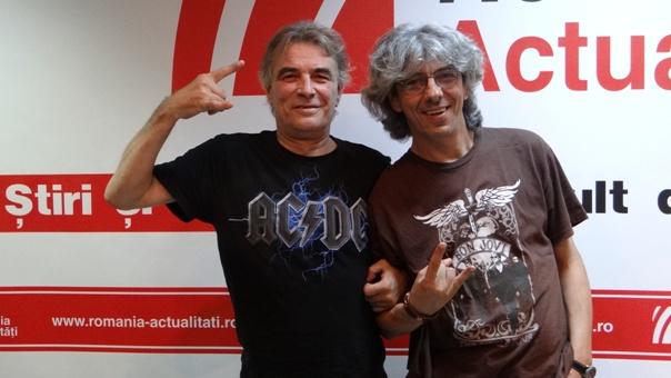 Cristi Luca si Dan Lica la Radio Romania 2018