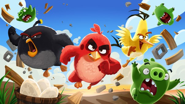 angry birds a