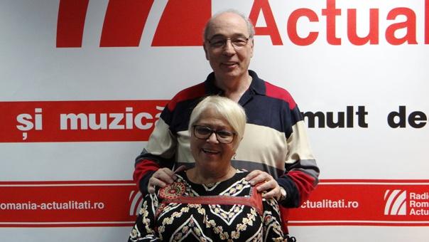 Mirabela Dauer si Andrei Partos la Radio Romania 2018