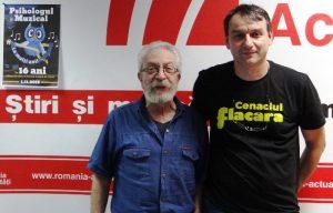 Andrei Paunescu si Evandro Rossetti la Radio Romania 2018