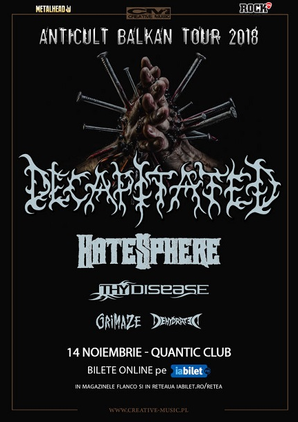 Decapitated 14 noiembrie
