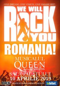 Queen - We Will Rock You 10 aprilie 2019