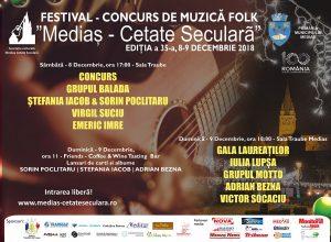 festival Medias Cetate Seculara 9 decembrie