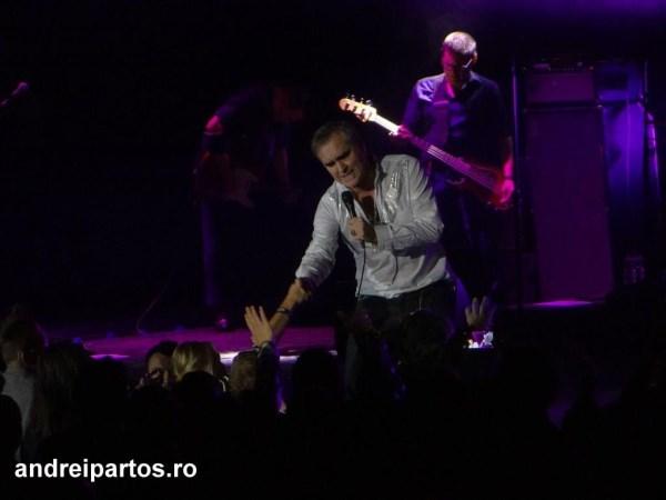 Morrissey, în concert la Sala Palatului (14.10.2015)