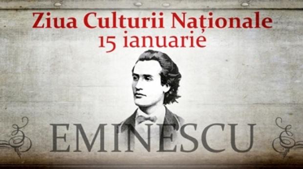 ZIUA EMINESCU- ZIUA CULTURII NAȚIONALE (15.01)