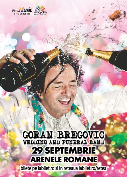 Goran Bregovic 29 septembrie