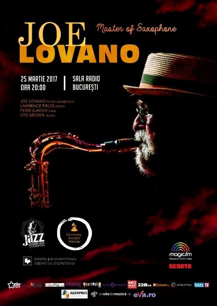 Joe Lovano 25 martie