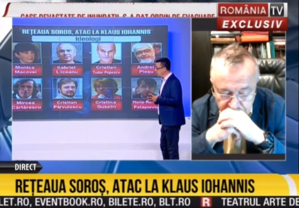 Romania TV lista neagra soros
