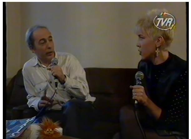 Andrei Partos si Silvia Dumitrescu 1994 TVR