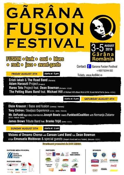 Garana Fusion Festival 5 august