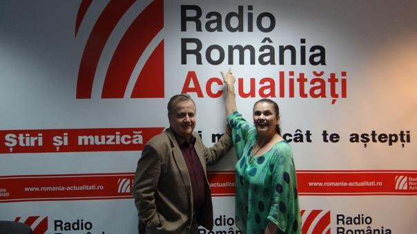 Felicia Filip si Cristian Mihailescu la Radio Romania 2018