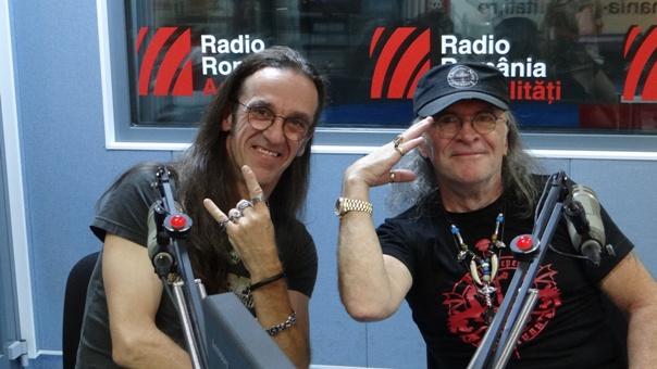 Marius Luca si Louis Dore la Radio Romania 2018